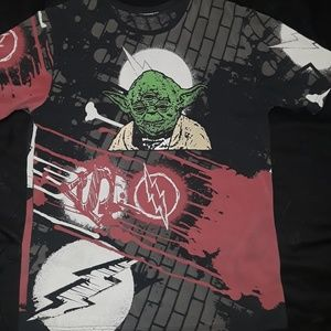 Yoda T-Shirt (Lg) mens.